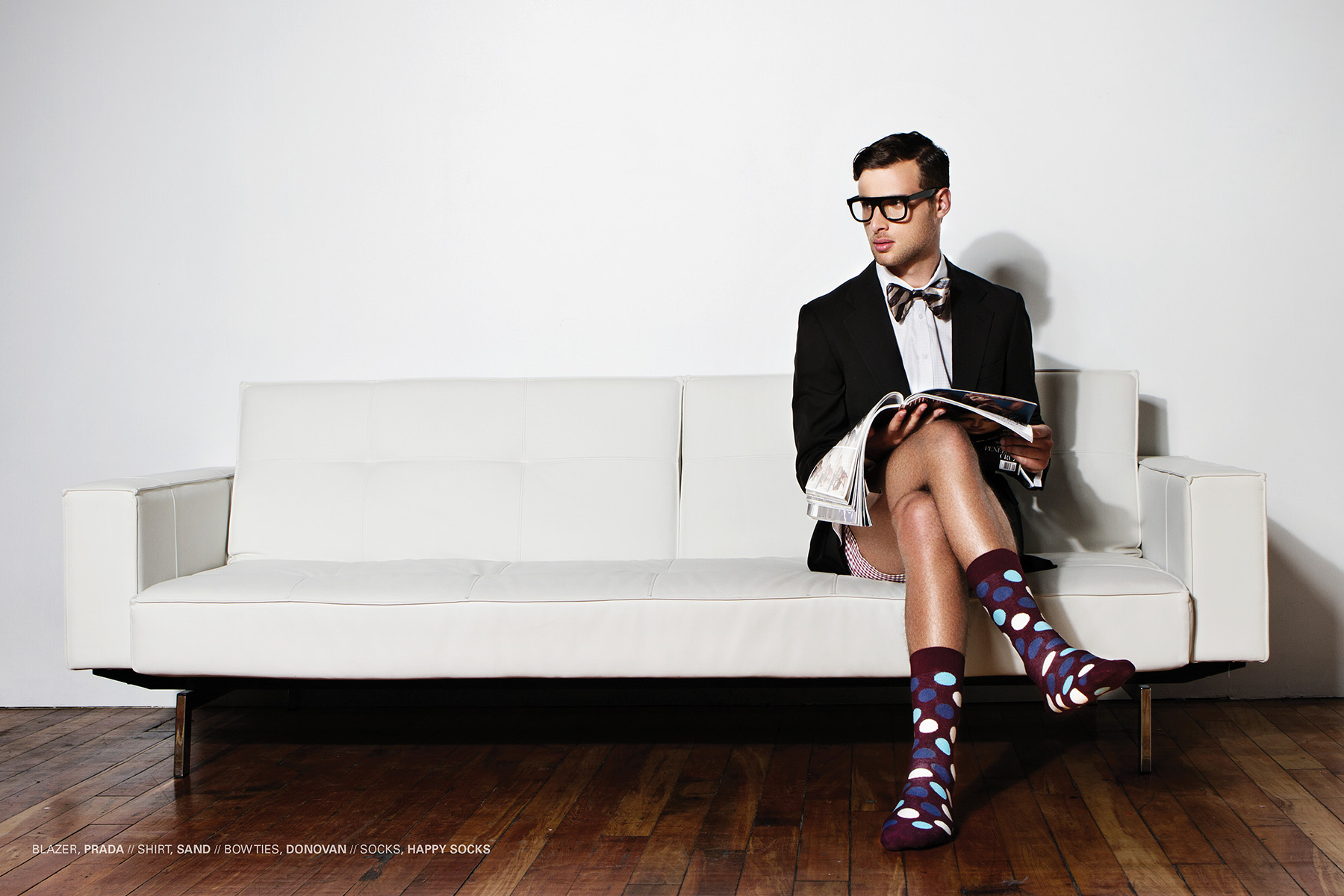 Sock it 2 Me Editorial for Kenton Magazine by Gabe Toth