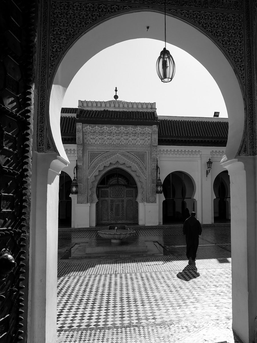 Morocco, Fes Mosque